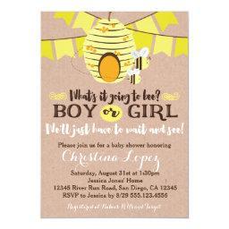 Bee Baby Shower  or Gender Reveal Party