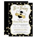 Bee Is For Baby Shower Invitation