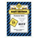 Blue Construction Baby Shower