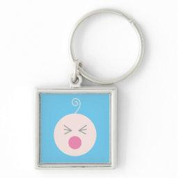 Blue Cry Baby Keychain