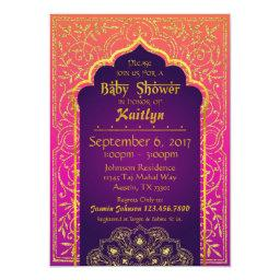 Bollywood Arabian Nights Baby Shower