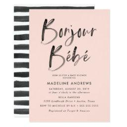 Bonjour Bebe | French Baby Shower