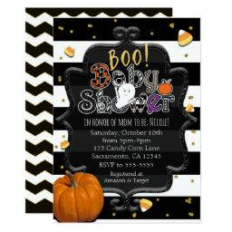 BOO! Baby Shower Ghost Whimsical Halloween