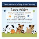 Bow Wow Puppy Dogs & Sports Baby Shower