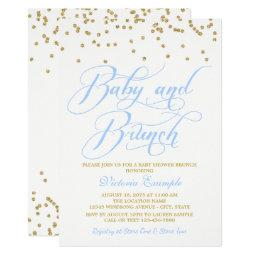 Boy Baby Shower Brunch