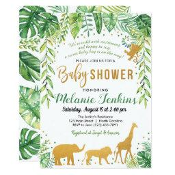 Boy Baby Shower , Jungle Baby Shower