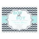 Boy Oh Boy Chic Chevron Baby Shower