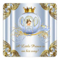 Boys Prince Royal Carriage Prince Baby Shower