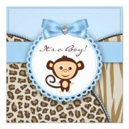 Brown and Blue Monkey