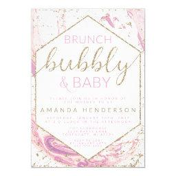 Brunch Bubbly & Baby Marble Baby Shower