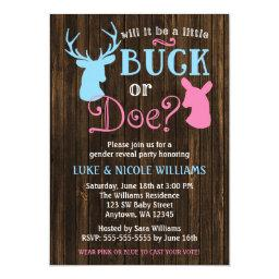 Buck or Doe  Party
