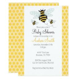 Bumble Bee Baby Shower-Birthday Party
