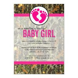 Camo - Baby Girl Shower