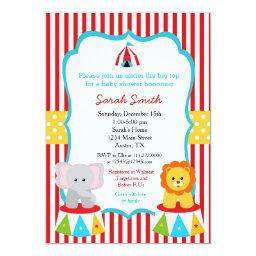 Carnival Circus Baby Shower