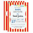 Carnival Circus Stripe Baby Shower