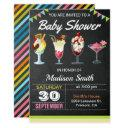 Colorful Ice Cream Sundae Baby Shower Invitation