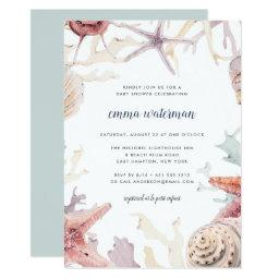Coral Reef Baby Shower Invitation
