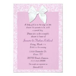 Cottage Chic Couple's Baby Girl Shower