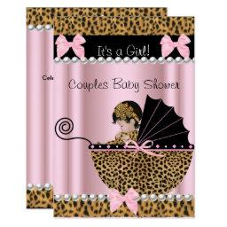 Couples  Cute Girl Pink Leopard