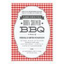 Couples Bbq Baby Shower Invitationss