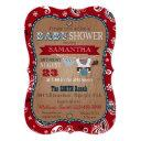 Cowboy Bandanna Jumper Baby Shower Invitations