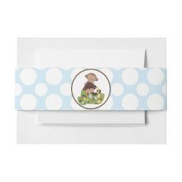 Curly Tails Monkeys Polka Dots Belly Band