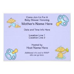 Custom Baby Shower Invites