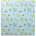 Cute Baby Shower Pattern Cloth Napkin