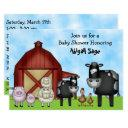 Cute Barnyard Farm Animals