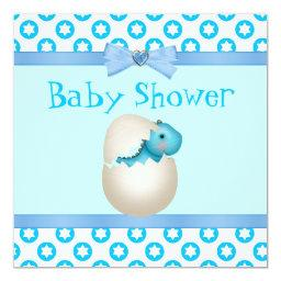 Cute Newly Hatched Baby Dinosaur Baby Shower