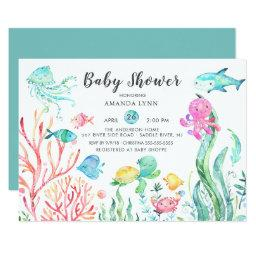 Cute Under The Sea Baby Shower