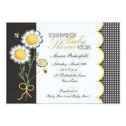 Daisies & Bumble Bee Baby Shower