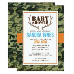 Deer Antlers Baby Shower
