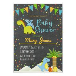 Dinosaur baby shower