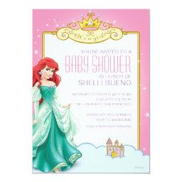 Disney Princess Ariel It's a Girl Baby Shower