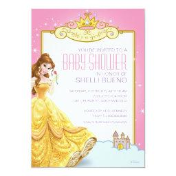 Disney Princess Belle It's a Girl Baby Shower