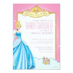 Disney Princess Cinderella It's a Girl Baby Shower