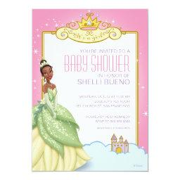 Disney Princess Tiana It's a Girl Baby Shower