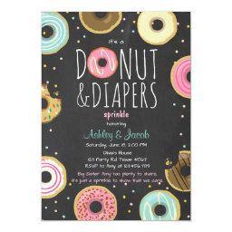 Donut and Diapers Sprinkle  Coed shower