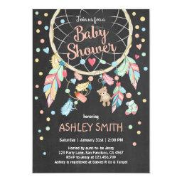 Dreamcatcher Baby Shower  Tribal Boho