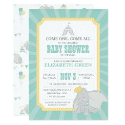Dumbo | Neutral Baby Shower Invitation