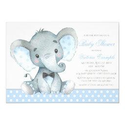 Elephant Baby Boy Shower