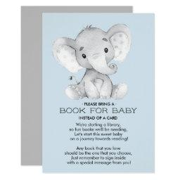 Elephant Baby Shower Book for Baby