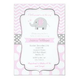 Elephant Baby Shower  for Girl