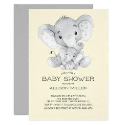 Elephant Neutral Baby Shower