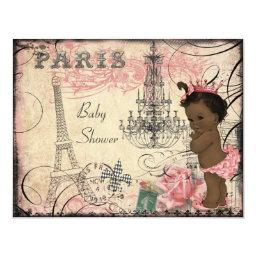 Ethnic Princess Paris Eiffel Tower Baby Shower