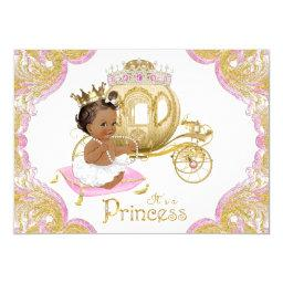 Ethnic Princess Pink Gold Baby Shower