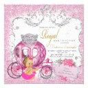 Fancy Little Princess Fairytale Baby Girl Shower Invitation