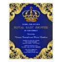 Fancy Prince Baby Shower Invitationss