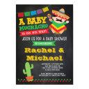 Fiesta Baby Shower Invitations, Baby Muchacho Invitations